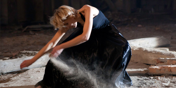 Irena Lipinska performing dance choreography for Rebirth.