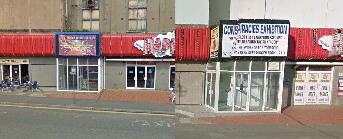 A curiosity on Chapel Street in Blackpool, U.K.