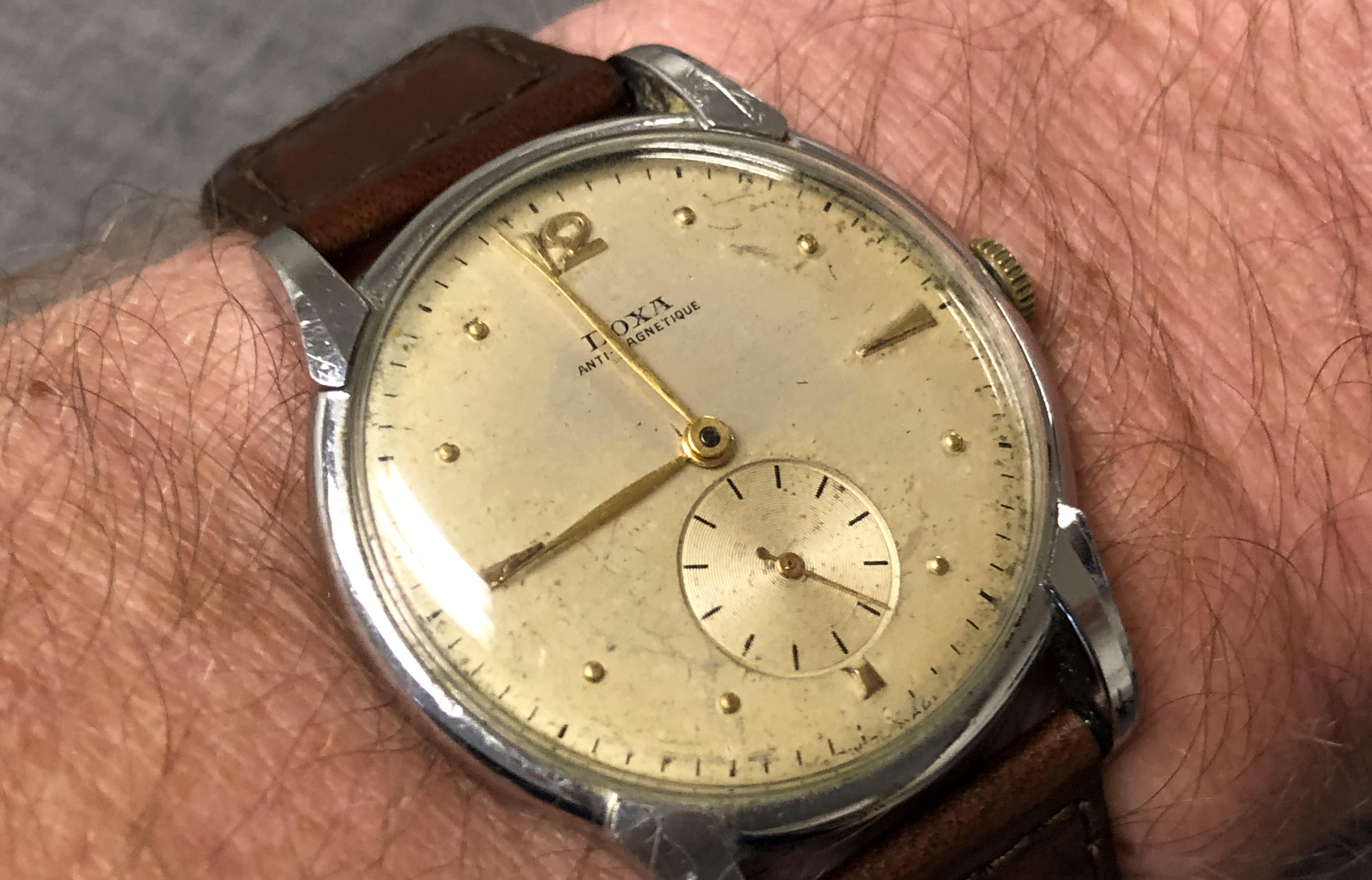 1949 Doxa in rotation