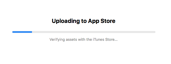 Verifying assets with the iTunes Store… solved